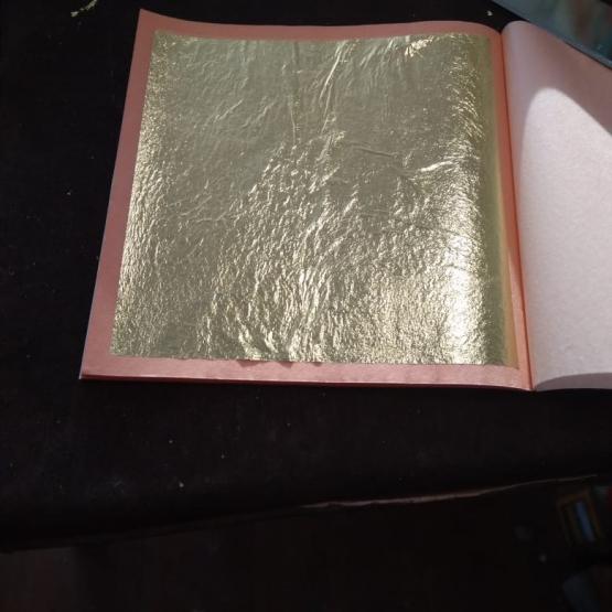 Сусальное золото 5 листов