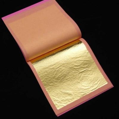 Трансферное сусальное золото 23 К, 1,25 г, 60 листов